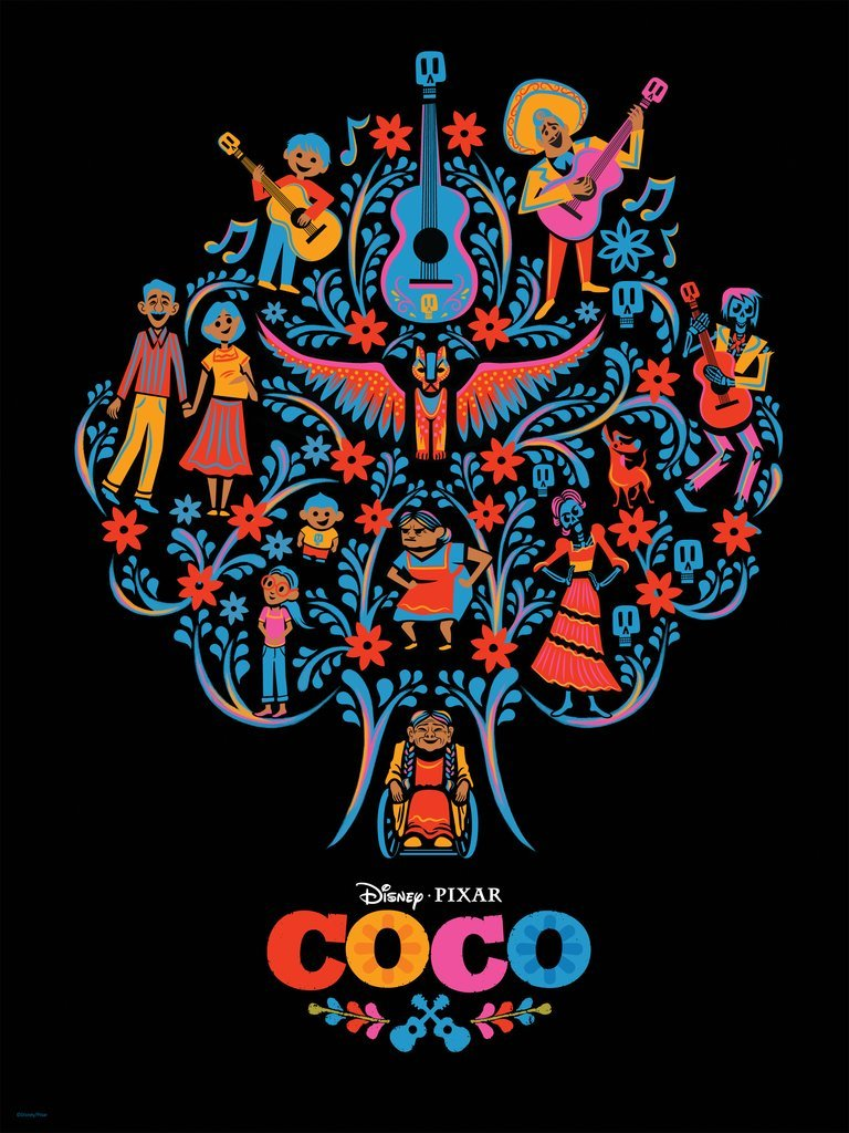 Coco – Tree Version by Stacey Aoyama Screen Print